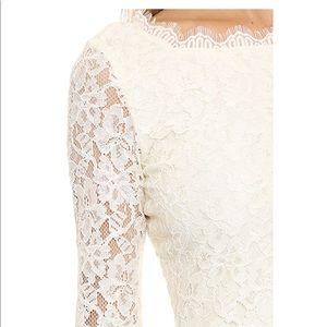 "Diane Von Furstenberg Dresses - 🔥 DVF 🔥 ""Zarita"" Ivory Lace Dress Sz 4 like new!"